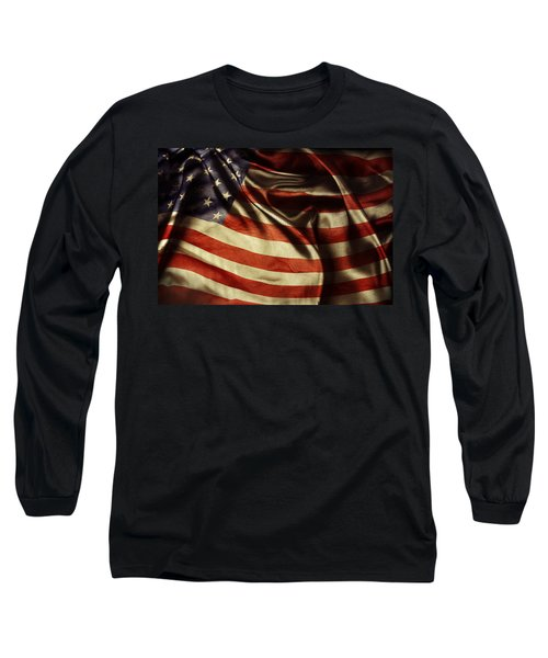 American Flag 51 Long Sleeve T-Shirt