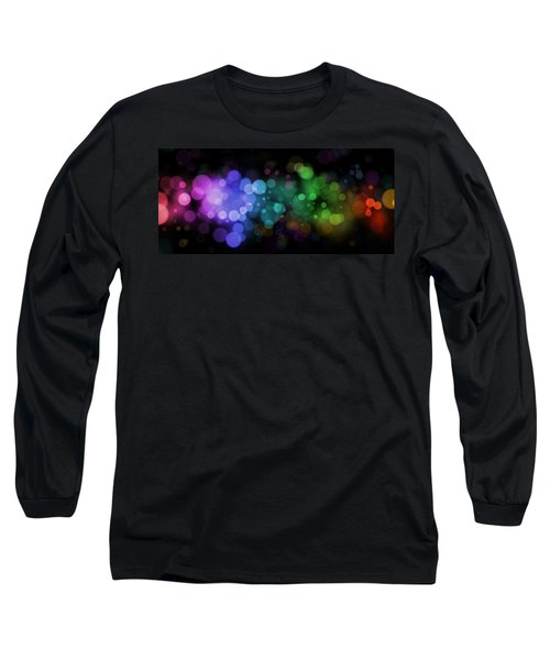 Colour In The Night Long Sleeve T-Shirt