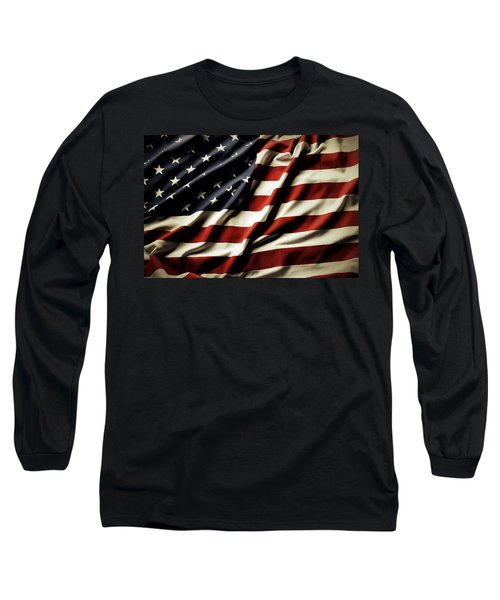 American Flag 61 Long Sleeve T-Shirt