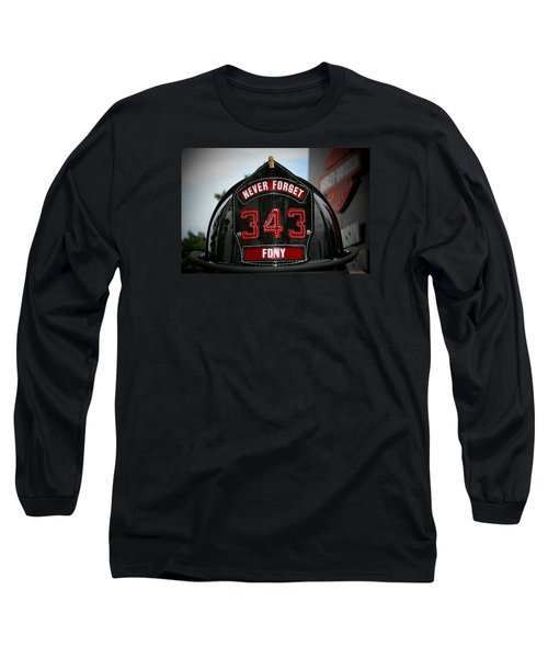 343 Long Sleeve T-Shirt by Susan  McMenamin