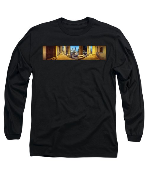 360 Degree View Of The Notre Dame De Long Sleeve T-Shirt