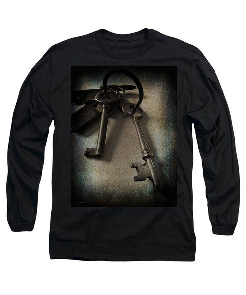 Vintage Keys Vignette Long Sleeve T-Shirt