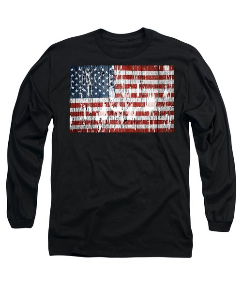 American Flag 49 Long Sleeve T-Shirt