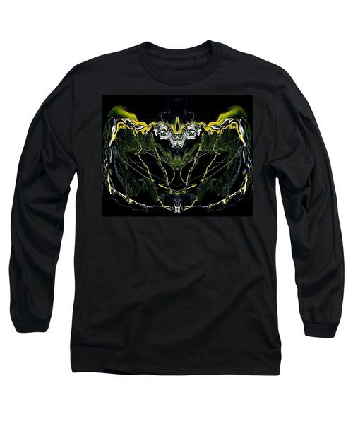 Abstract 42 Long Sleeve T-Shirt