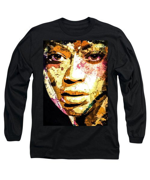 Beyonce Long Sleeve T-Shirt by Svelby Art