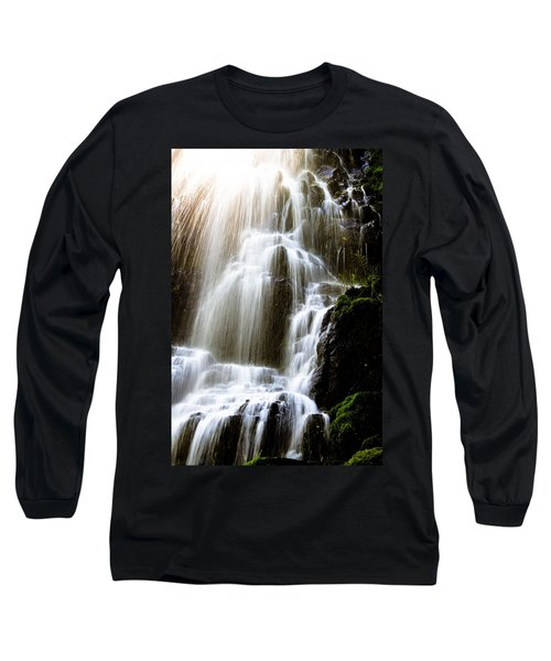 Long Sleeve T-Shirt featuring the photograph Fairy Falls by Patricia Babbitt