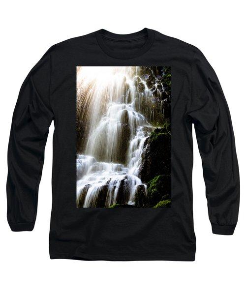 Fairy Falls Long Sleeve T-Shirt by Patricia Babbitt