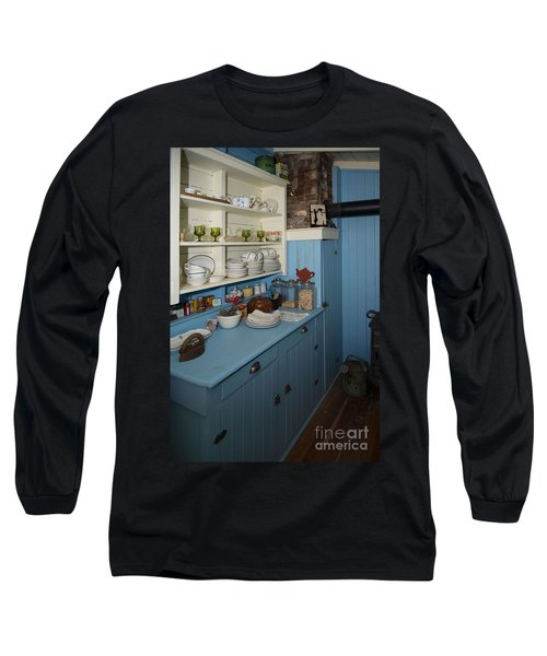 Heritage Cottage Museum On Bowen Island Long Sleeve T-Shirt