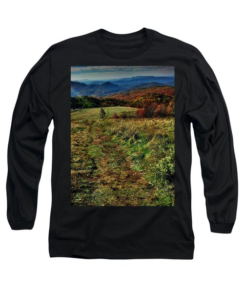 Max Patch Long Sleeve T-Shirt by Janice Spivey
