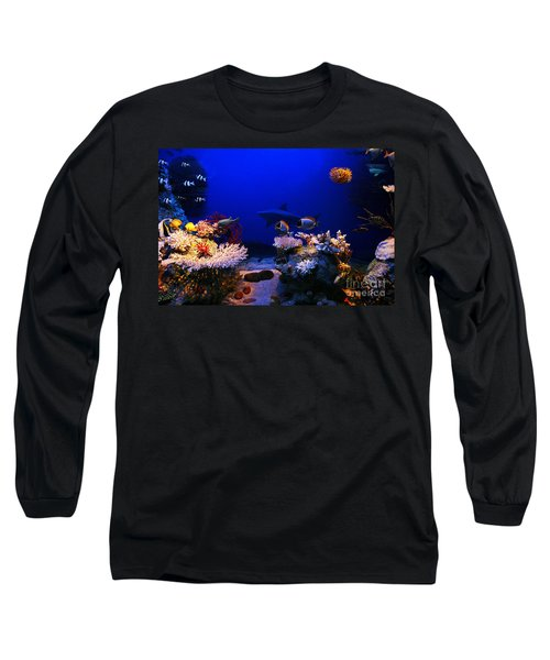 Underwater Scene Long Sleeve T-Shirt