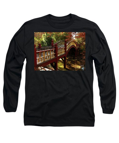 William And Mary College Long Sleeve T-Shirt by Jacqueline M Lewis