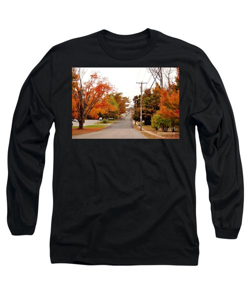 Fall Foliage In New England Long Sleeve T-Shirt