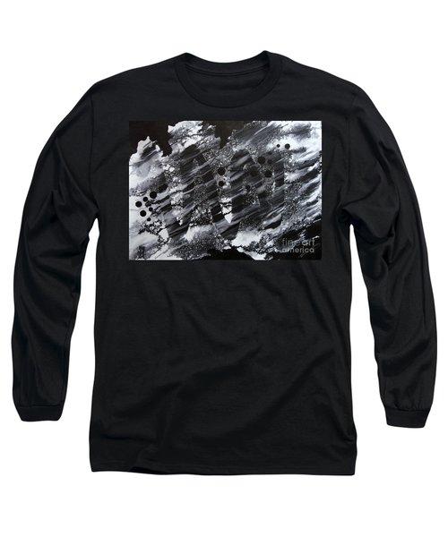 Curve Line Long Sleeve T-Shirt
