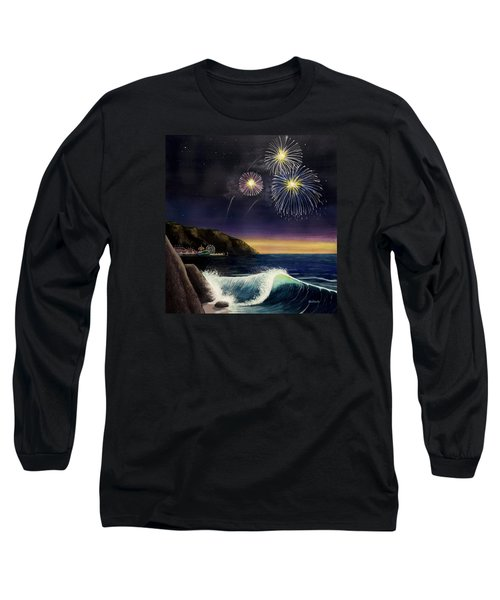 4th On The Shore Long Sleeve T-Shirt by Jack Malloch