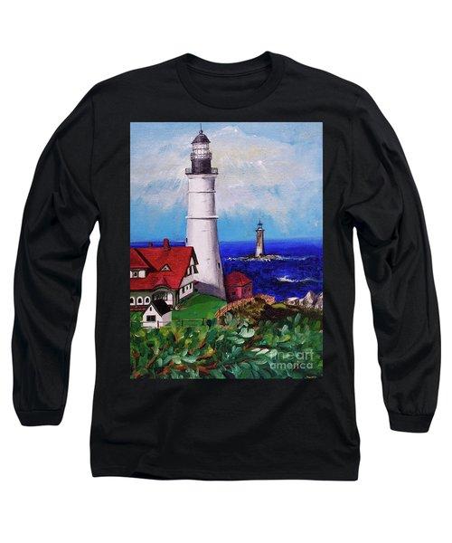 Lighthouse Hill Long Sleeve T-Shirt