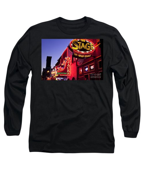 Music City Usa Long Sleeve T-Shirt