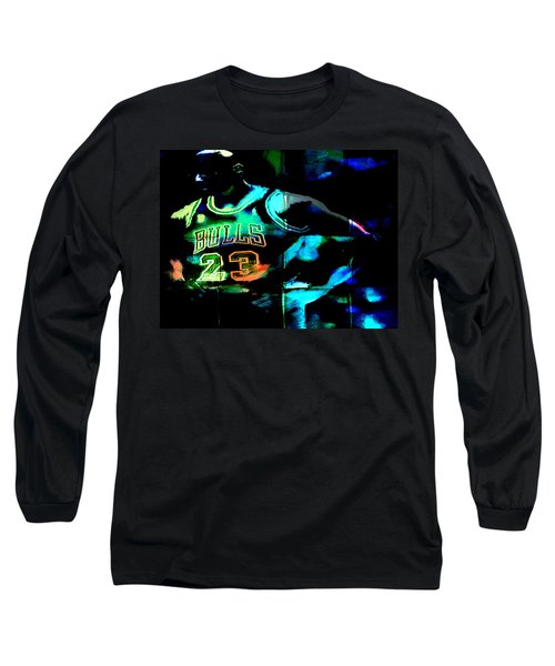 Long Sleeve T-Shirt featuring the digital art 5 Seconds Left by Brian Reaves