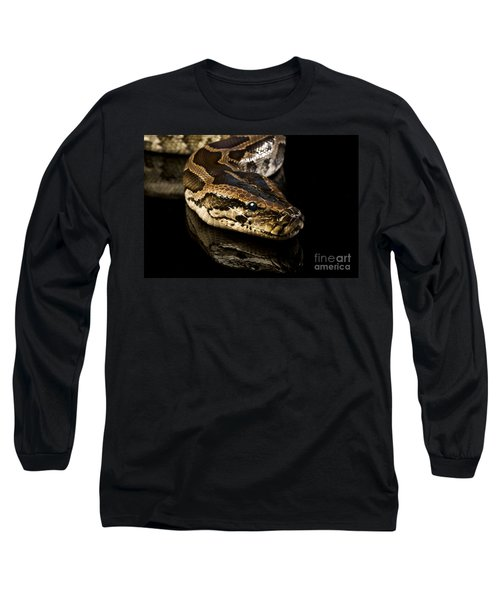Long Sleeve T-Shirt featuring the photograph Snake by Gunnar Orn Arnason