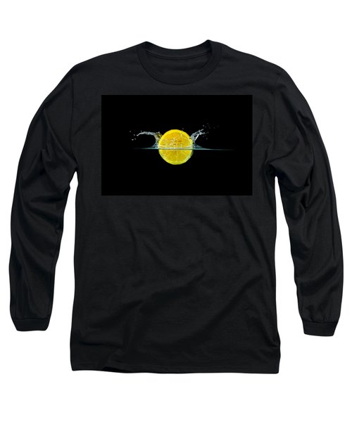 Splashing Lemon Long Sleeve T-Shirt