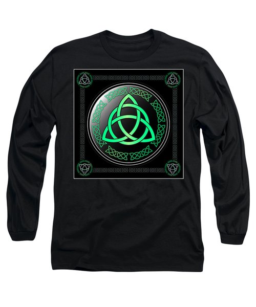 Triquetra Long Sleeve T-Shirt by Ireland Calling