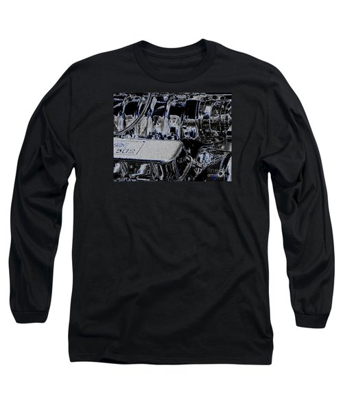 Long Sleeve T-Shirt featuring the digital art 502 by Chris Thomas