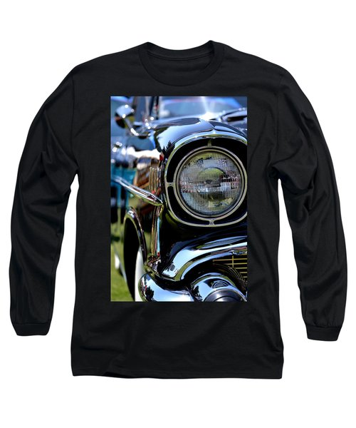 50's Chevy Long Sleeve T-Shirt by Dean Ferreira