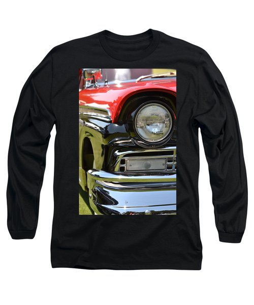 50's Ford Long Sleeve T-Shirt by Dean Ferreira