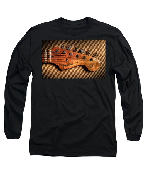 '57 Stratocaster Long Sleeve T-Shirt by Ray Congrove