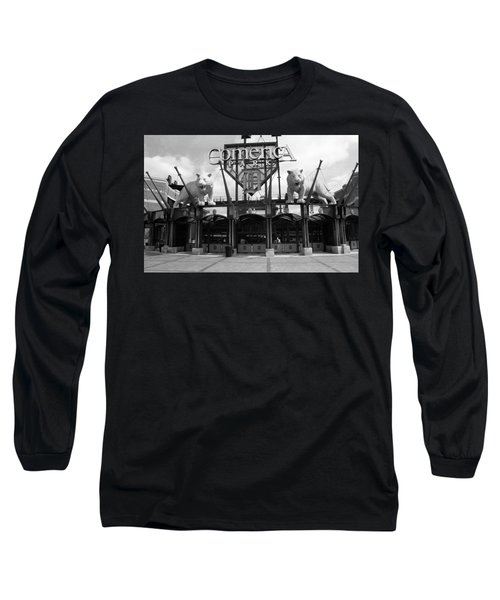 Comerica Park - Detroit Tigers Long Sleeve T-Shirt