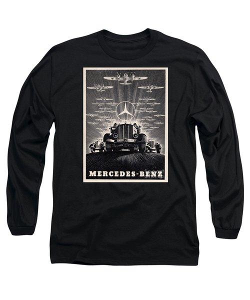Mercedes - Benz Long Sleeve T-Shirt