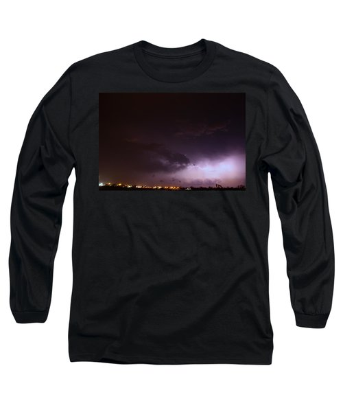 Our 1st Severe Thunderstorms In South Central Nebraska Long Sleeve T-Shirt