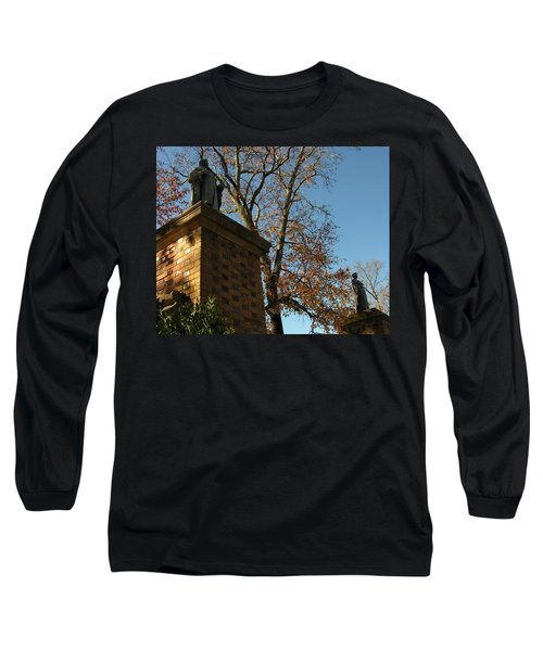 Long Sleeve T-Shirt featuring the photograph William And Mary College by Jacqueline M Lewis