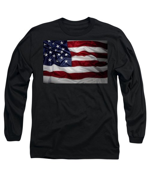 American Flag 52 Long Sleeve T-Shirt