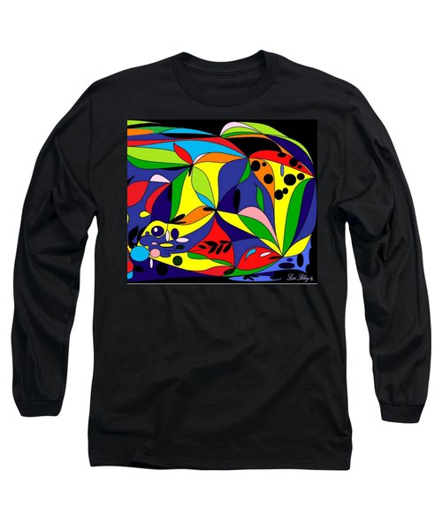 Design By Loxi Sibley Long Sleeve T-Shirt by Loxi Sibley