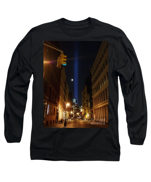 9-11-2013 Nyc Long Sleeve T-Shirt by Jean luc Comperat