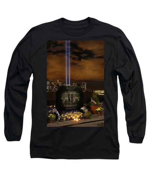 9-11 Monument Long Sleeve T-Shirt