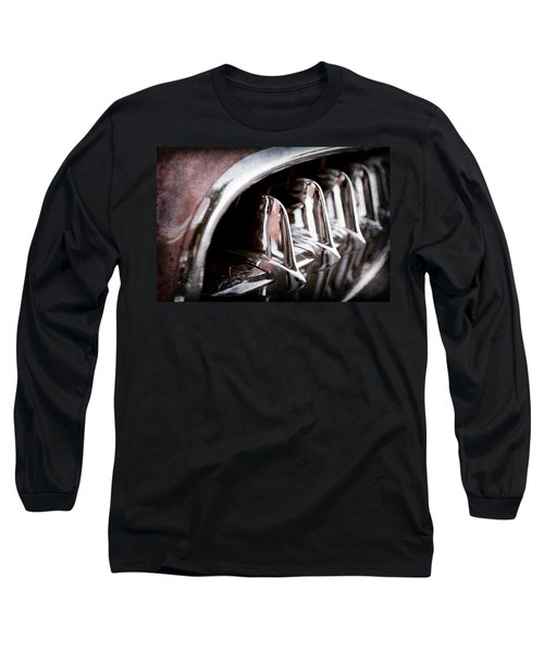 1957 Chevrolet Corvette Grille Long Sleeve T-Shirt