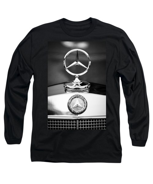 Mercedes-benz Hood Ornament Long Sleeve T-Shirt