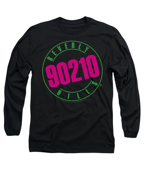 90210 - Neon Long Sleeve T-Shirt by Brand A
