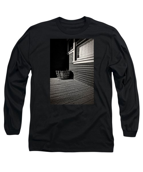 Over A Barrel Long Sleeve T-Shirt