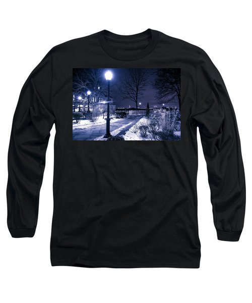 A Battery Park Winter Long Sleeve T-Shirt