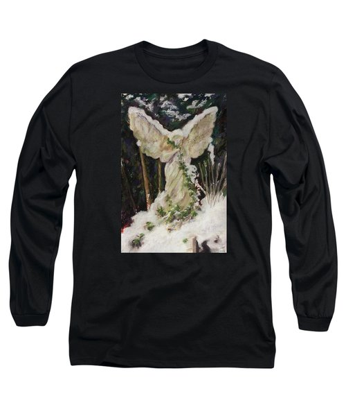 A Breath Of Snow And Ivy,  Highgate Cemetery Long Sleeve T-Shirt