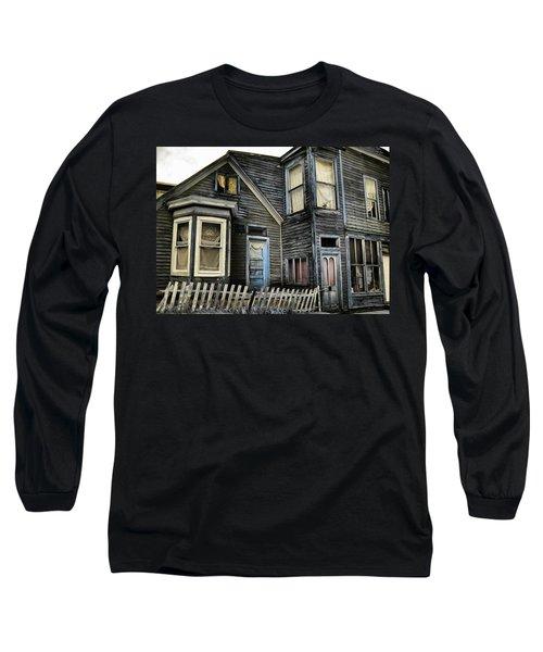 A Bygone Era Long Sleeve T-Shirt by Ellen Heaverlo