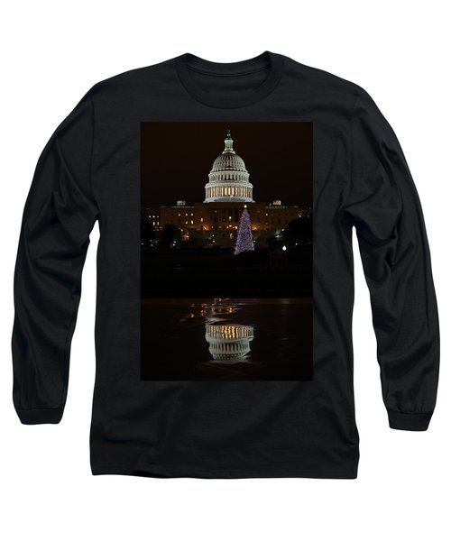A Capitol Reflection Long Sleeve T-Shirt