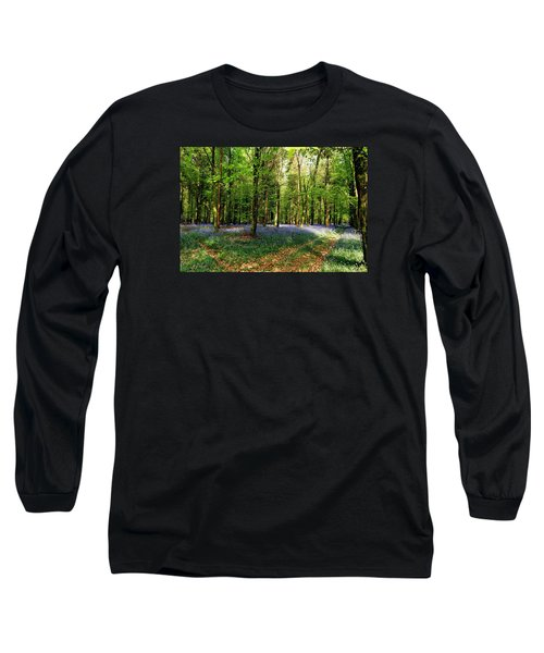 Long Sleeve T-Shirt featuring the photograph A Carpet Of Colour by Wendy Wilton