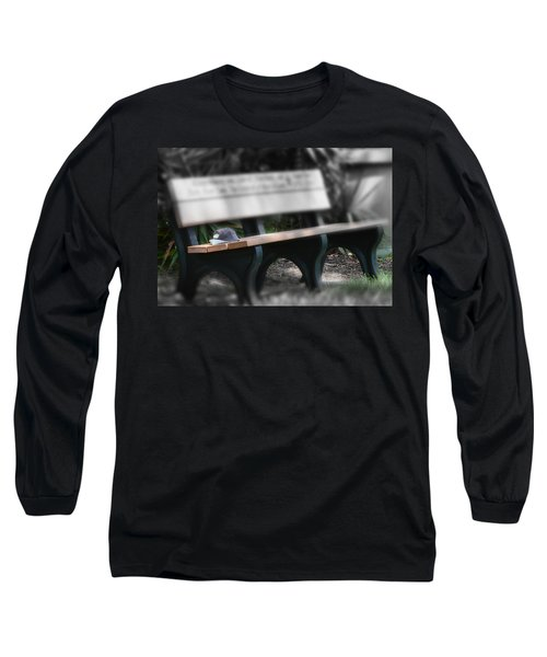 Long Sleeve T-Shirt featuring the photograph A Child Somewhere In My Dreams by DigiArt Diaries by Vicky B Fuller