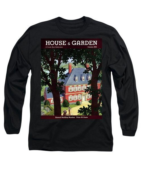 A Colonial Manor House Long Sleeve T-Shirt