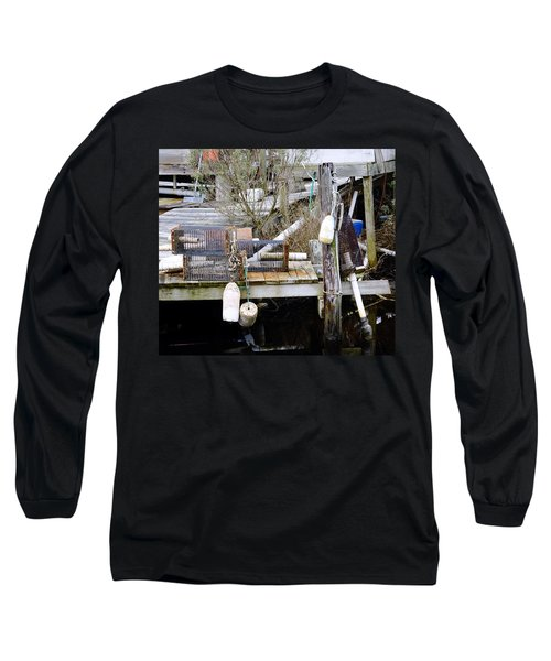 A Crab Fishermans Still Life Long Sleeve T-Shirt
