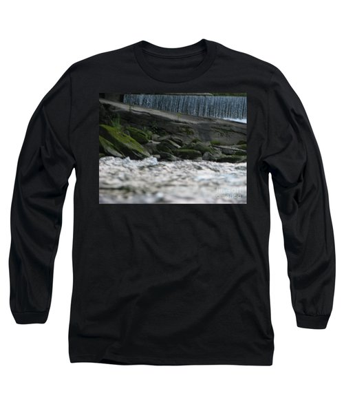 Long Sleeve T-Shirt featuring the photograph A Day At The River by Michael Krek