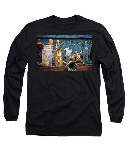 Long Sleeve T-Shirt featuring the photograph Treasures Of A Scuba Diver by Peggy Collins